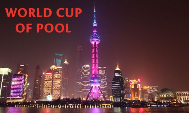 World Cup of POOL 2018 – Shanghai, China